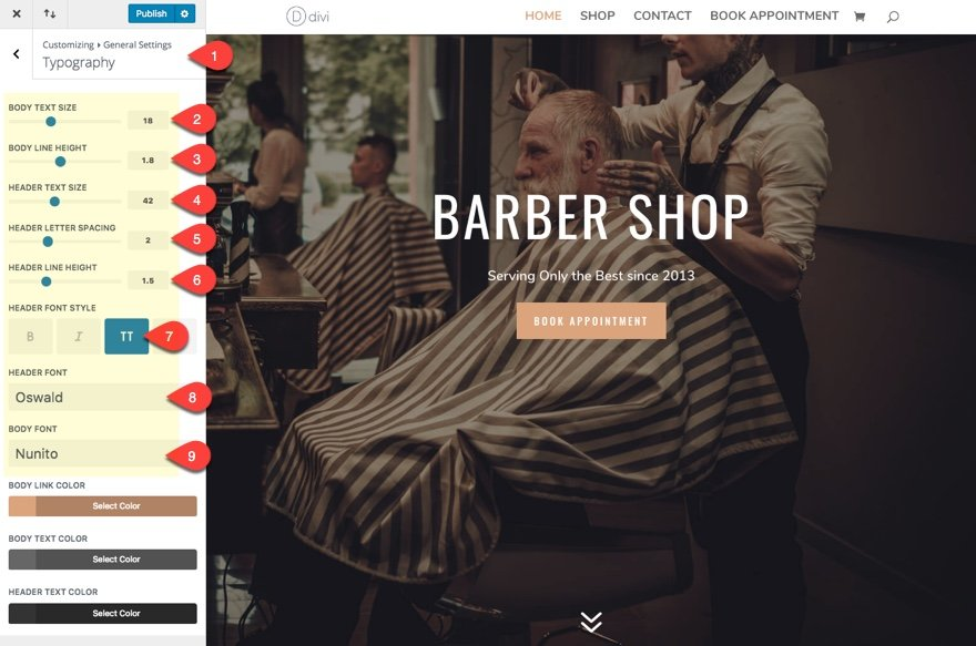 How to Build a Barbershop Website with Divi Elegant Themes Blog