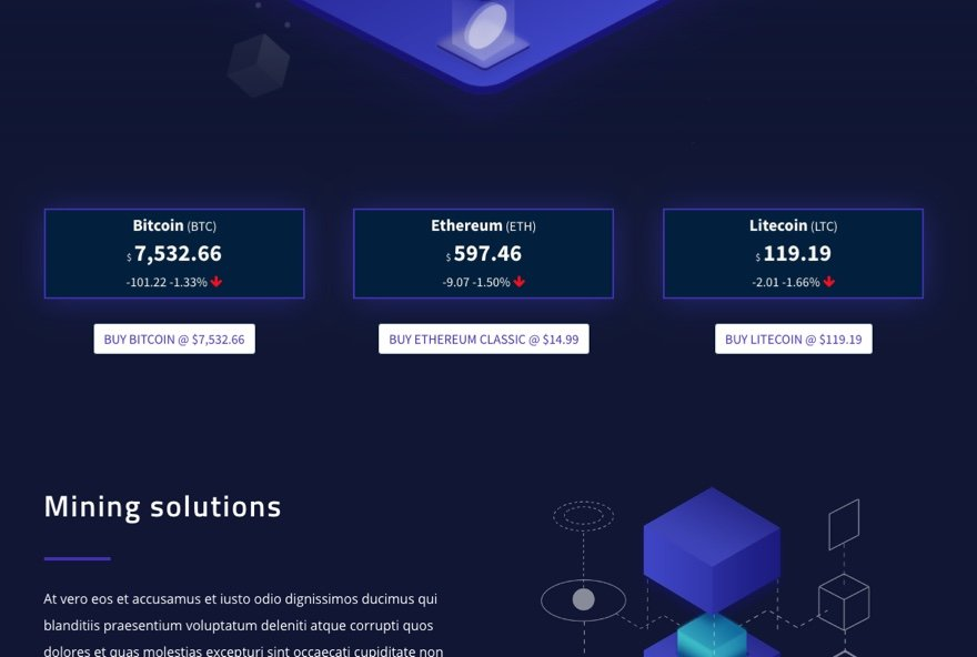 How to Display Real-Time Cryptocurrency Data on your Website