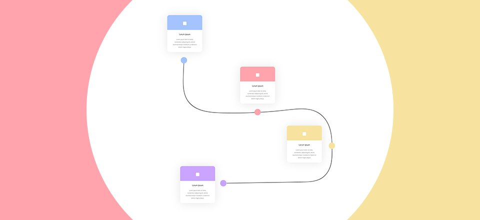 Download a FREE Timeline Section Made with Divi\u0027s Transform Options