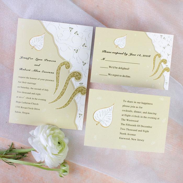 Funky wedding evites vs classic wedding invitations
