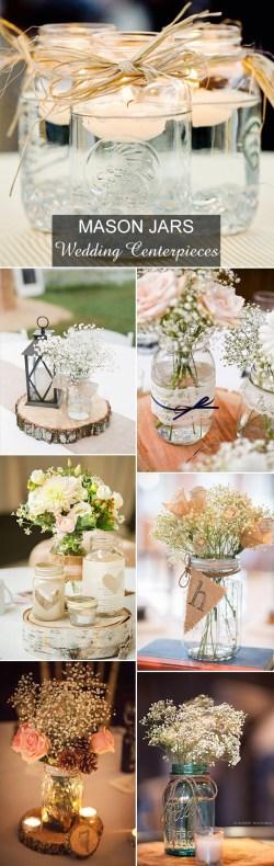 Beauteous Burlap Mason Jar Centerpieces S Country Rustic Mason Jars Inspired Wedding Centerpieces Ideas Rustic Wedding Ways To Use Mason Jars Mason Jar Centerpieces