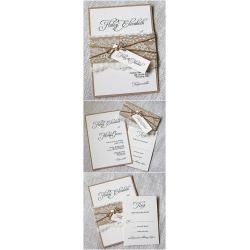Small Crop Of Rustic Wedding Invitations
