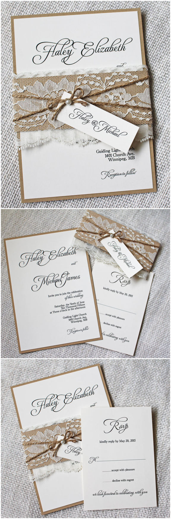 Large Of Rustic Wedding Invitations