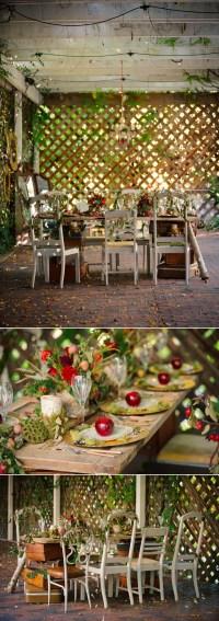 40 Stunning Woodland & Forest Wedding Reception Ideas ...