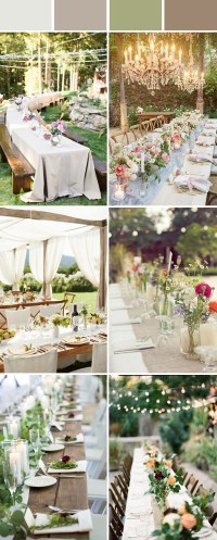 Wedding Table Setting Decoration Ideas for Reception ...