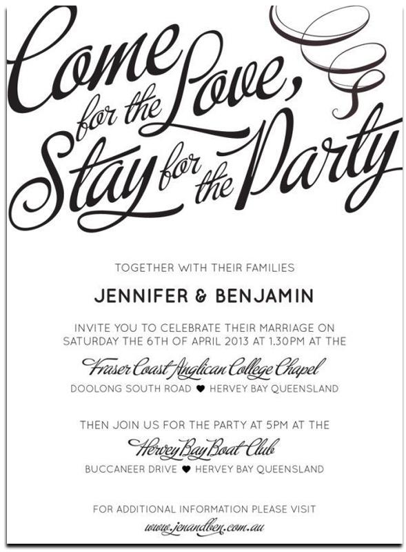 20 Popular Wedding Invitation Wording  DIY Templates Ideas - invitation formats