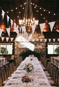 Breathtaking Wedding Reception Dcor Ideas with String ...