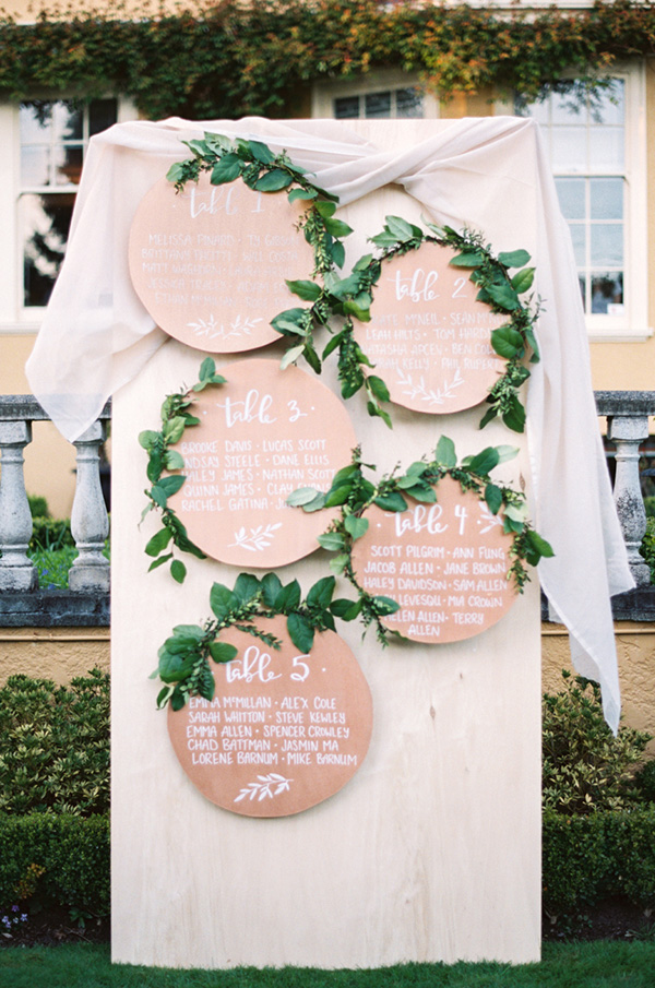 10 Chic Ideas to Display Your Wedding Seating Chart  Escort Cards