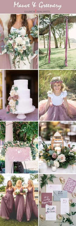 Dark Lush Greenery Summer Wedding Colors Greenery Organic All Spring Silver Mauve Groom Summer Wedding Colors Summer Wedding Colors Wedding Trends Wedding Colors
