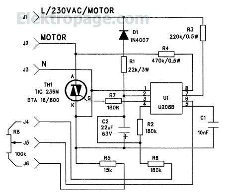 220v Motor Schematic Wiring Diagram 2019