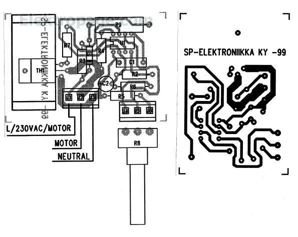 ac motor control schematic diagram