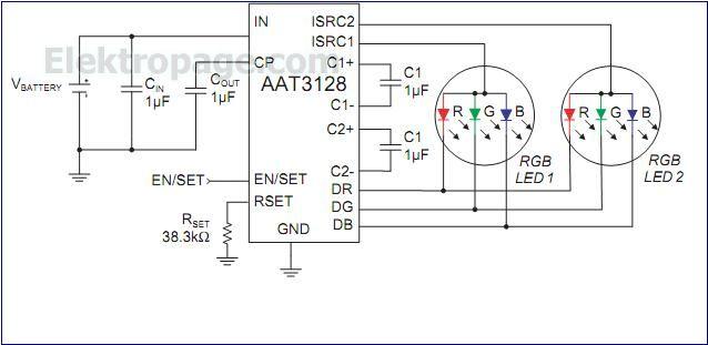 Rgb Led Driver Circuit car block wiring diagram