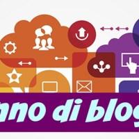 Un anno di blogging