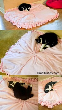 DIY LARGE Dog Bed Idea