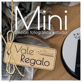 Vale regalo de mini sesión fotografica en estudio elenircfotografia