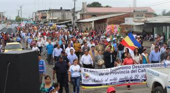 El Piedrero celebró 67 años de fundación  reivindicando pertenencia al Cañar