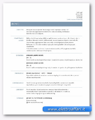 Curriculum Vitae Modello Coworker Reference Letter Sample