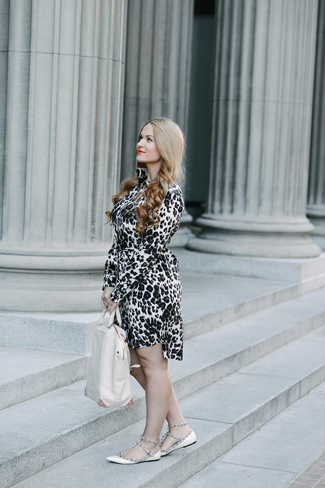 DVF Leopard Dress