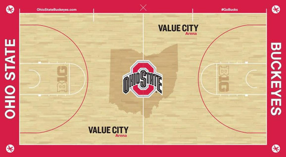 Ohio State39s New Basketball Court Is Part Of A Major