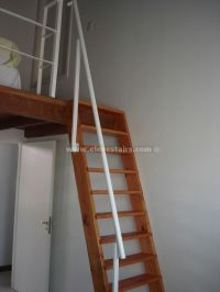 Space Saving Stairs, Vertical Stairs Eleve, Metallic