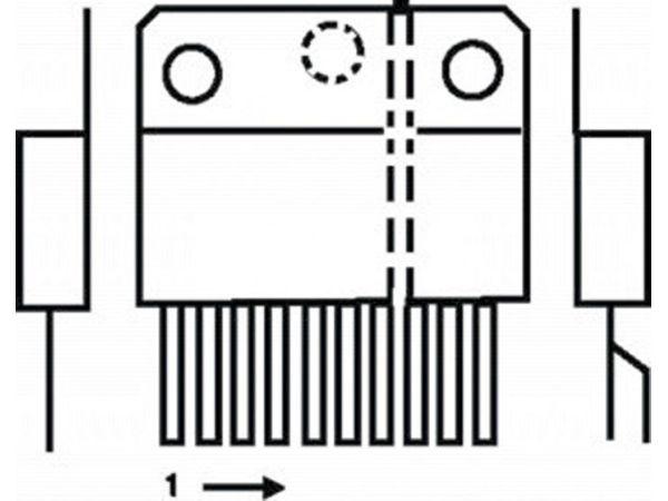 2x10w audio amplifier with tda2009a