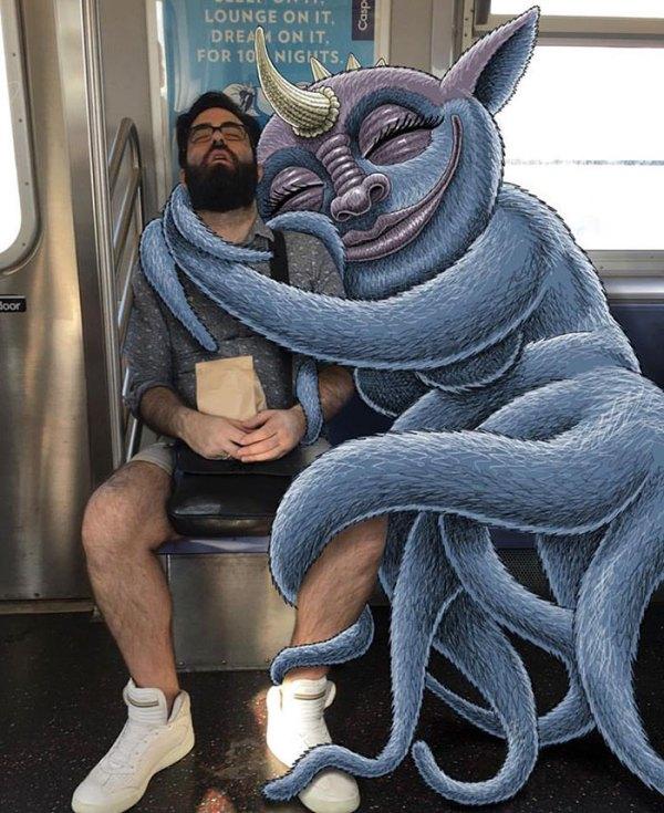dibujos-monstruos-metro-nueva-york-ben-rubin-6