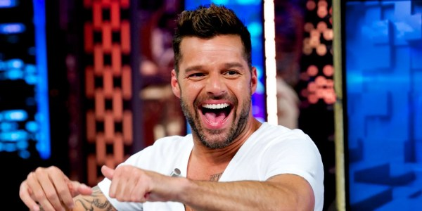 MADRID, SPAIN - JUNE 09: Ricky Martin attends 'El Hormiguero' Tv show at Vertice Studio on June 9, 2014 in Madrid, Spain. (Photo by Juan Naharro Gimenez/WireImage)