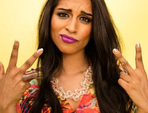 LOS ANGELES, CA - AUGUST 16:  Internet personality Lilly Singh, aka Superwoman, poses for a portrait during the 2015 Teen Choice Awards FOX Portrait Studio at Galen Center on August 16, 2015 in Los Angeles, California.  (Photo by Christopher Polk/FOX/Getty Images For FOX Teen Choice)