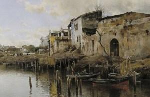 Emilio Sánchez Perrier (1855-1907) - Triana (1889) - Sevilla Bellas Artes