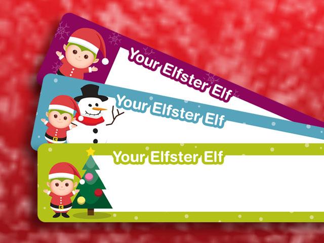 Christmas Return Address Labels Free Printable Elfster