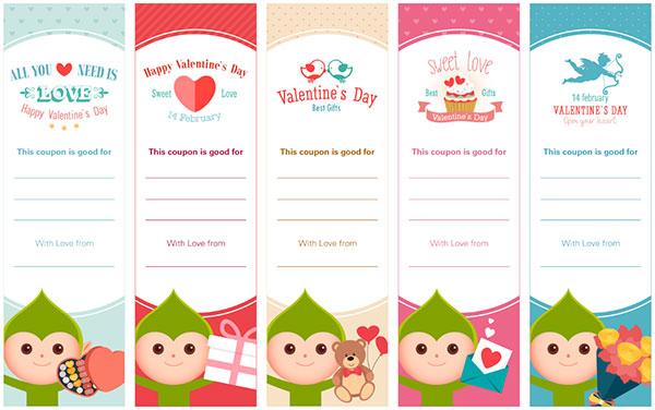 Elfster\u0027s Free Downloadable Printables PDF Valentine\u0027s Day Coupons