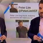 El patinazo de TVE sobre Peter Lim (foto)