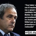 "Platini inicia una ""guerra"" contra Blatter"