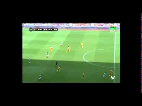 Análisis Táctico: Jornada 3 FC Barcelona – Athletic Club