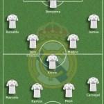 El Real Madrid ya tiene once titular para el Clásico (foto)