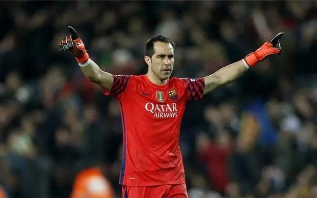 Un entrenador top español quiere a toda costa a Claudio Bravo