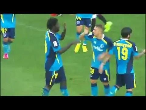 Deulofeu se estrena con el Sevilla con un golazo (Vídeo)