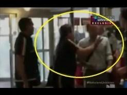 El video de la agresión del DT de México a reconocido periodista