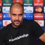 Magnífico gesto de Guardiola en la rueda de prensa previa de Champions (Foto)
