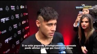 Neymar se divierte jugando al Póker en sus últimos días de vacaciones (Vídeo)