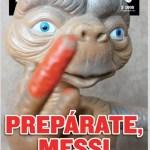Una portada chilena contra Messi 'incendia' las redes en Argentina (Foto)