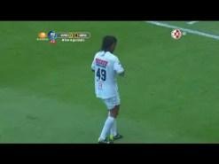 Ronaldinho hace un doblete en 8 minutos (Vídeo)