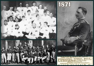 El primer partido internacional de rugby y otras historias del deporte en 1871