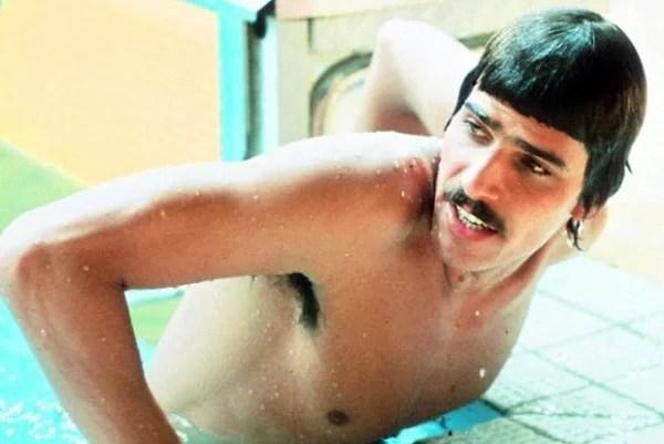 O icônico nadador olímpico Mark Spitz também era um adepto
