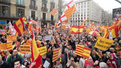 Multitudinaria manifestación de Tabarnia en Barcelona | El Imparcial