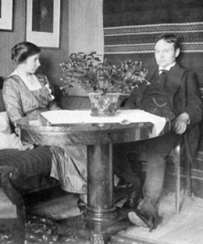 Elin och maken John Landqvist