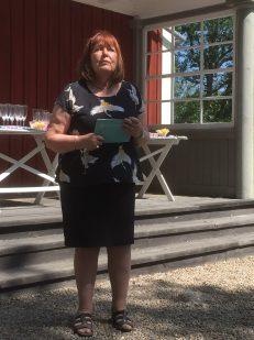 Ingrid Burman inviger årets utställning på Lilla Björka