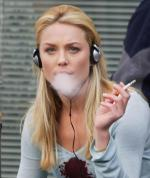 Female Celebrities Smoking Cigarettes
