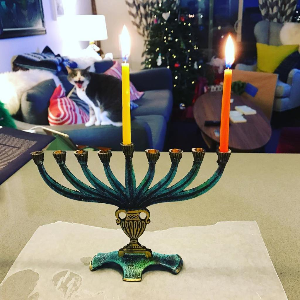 Happy Hanukkah! Merry Christmas Eve! And Jolly Mad About Ithellip