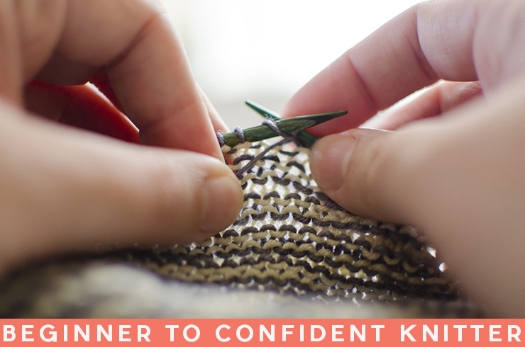 How To Go From Beginner to Confident Knitter